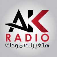 Logo of radio station AK Melody - Lebanon