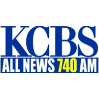 Logo of radio station KCBS All News 740