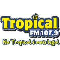 Logo of radio station Rádio Tropical FM 107.9