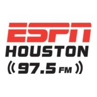 Logo of radio station KFNC ESPN 97.5