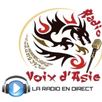 Logo of radio station Voix d'Asie