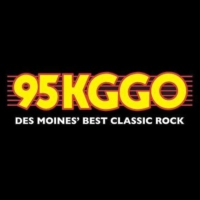 Logo of radio station 95 KGGO