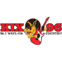 Logo of radio station WXFL KIX 96
