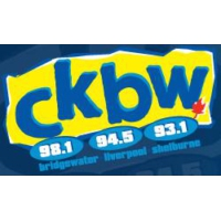 Logo of radio station CKBW 98.1 FM