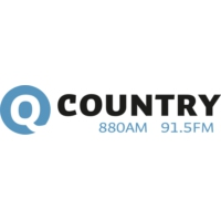 Logo de la radio Q Country 91.5FM