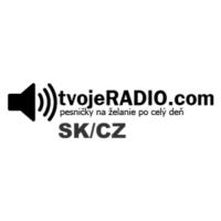 Logo of radio station tvojeRADIO.com SK/CZ