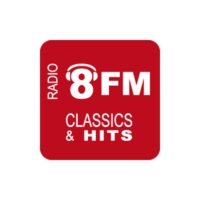Logo of radio station Radio 8FM West-Brabant