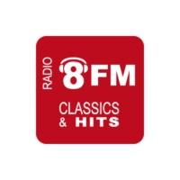 Logo of radio station Radio 8FM Midden-Brabant