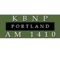 Logo of radio station KBNP