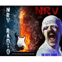 """Logo de la radio NRV radio """"la radio vénère"""""""