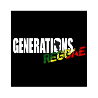 Logo of radio station Générations Reggae