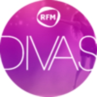Logo of radio station Les Divas de RFM