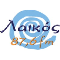 Logo of radio station Laikos 87.6
