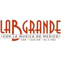 Logo of radio station XEB La B Grande