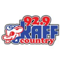 Logo of radio station KAFF Country 92.9