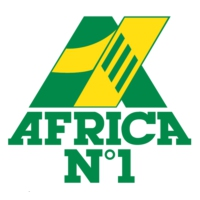 Logo of radio station Africa N°1 Libreville