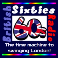 Logo of radio station British Sixties Radio