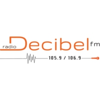 Logo of radio station Décibel FM