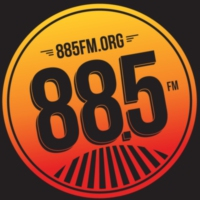 Logo of radio station KCSN 88.5 FM Radio