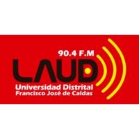 Logo of radio station LAUD 90.4 FM