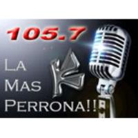 Logo of radio station La Uni-K con Pegue