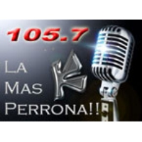 Logo of radio station La Uni-K con Pegue