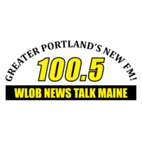 Logo of radio station WLOB 100.5