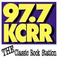 Logo of radio station KCRR 97.7