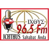 Logo de la radio Ichthus Sahabat Anda