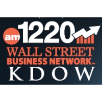 Logo of radio station KDOW Wall Street 1220