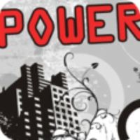 Logo de la radio 1Club.fm - Power