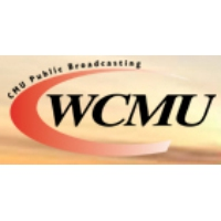 Logo of radio station WCMU CMU