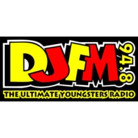 Logo of radio station 94.8 DJFM