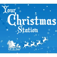 Logo of radio station The Christmas Station from AllHeart