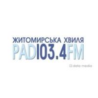 Logo de la radio Житомирська Хвиля