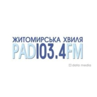 Logo of radio station Житомирська Хвиля