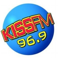 Logo of radio station KXSS Kiss FM 96.9