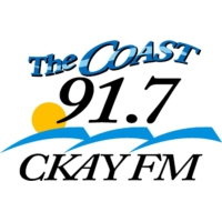 Logo of radio station The Coast 91.7