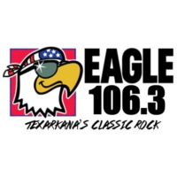 Logo of radio station Eagle 106.3 KYGL