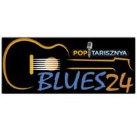 Logo de la radio Poptarisznya Blues24