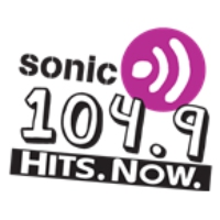 Logo of radio station CFUN Sonic 104.9