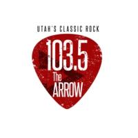 Logo of radio station KRSP-FM 103.5 The Arrow