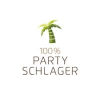 Logo de la radio 100% Partyschlager - von Schlagerplanet Radio