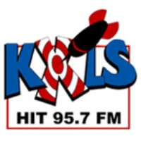 Logo of radio station KXLS