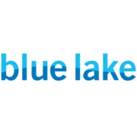 Logo of radio station WBLU Blue lake