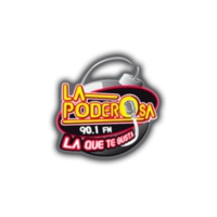 Logo of radio station XHTEU La Poderosa 99.1 FM