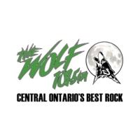 Logo of radio station CKWF-FM 101.5 The Wolf