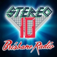 Logo of radio station Stereo 10 Brisbane