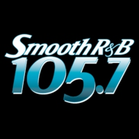Logo of radio station KRNB Smooth R&B 105.7