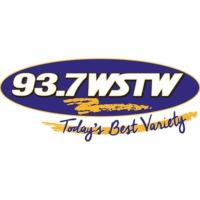 Logo of radio station 93.7 WSTW
